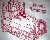 Nana's Bed Pillowcases Pattern