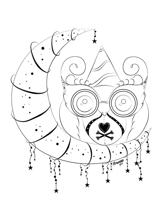 School Owl Coloring Page Owl Stationary Owl Coloring