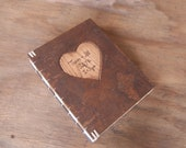 tree bark wedding guest book custom engraved wood  unique wedding anniversary gift -made to order