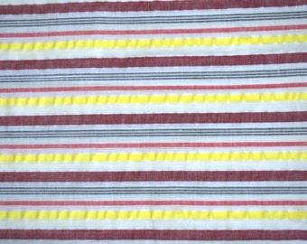 Seersucker Summer Pure Cotton Fabric - One yard