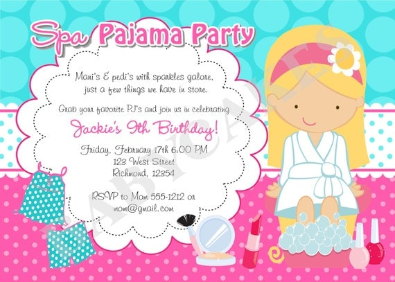 Sleep Over Invitation for great invitations design