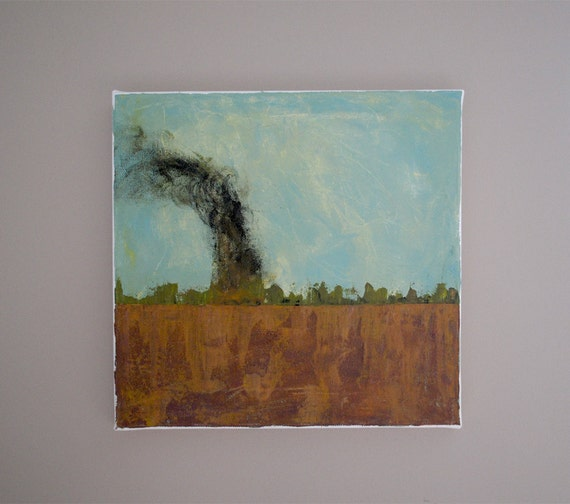 Painting - Brush Fire -