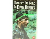 The Deer Hunter Vhs Wall Clock (retro , vintage , upcycled)