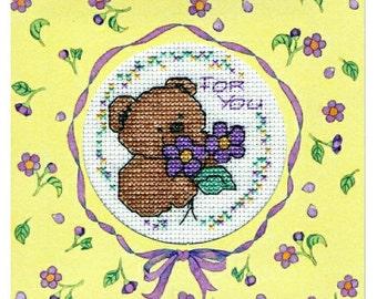 Get Well Card in Cross Stitch (7007)