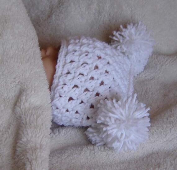 Items similar to PDF Pom Hat Instant Download Crochet ...