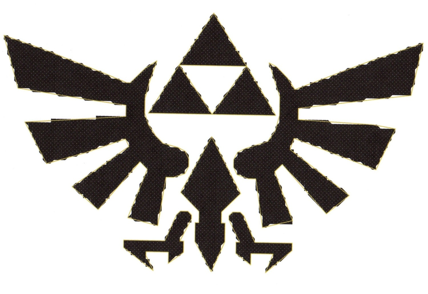 the legend of triforce logo www pixshark images galleries with a bite