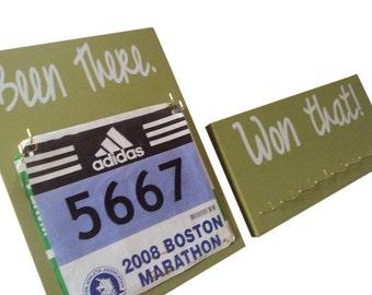 Running accessories - Running medals holder and race bib holder
