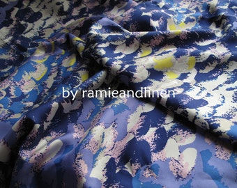 "Silk fabric, silk twill fabric, pure mulberry silk fabric, dress fabric, half yard by 44"" wide"
