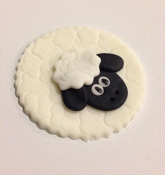 Fondant Koala Cupcakes to Sheep Fondant Cupcake