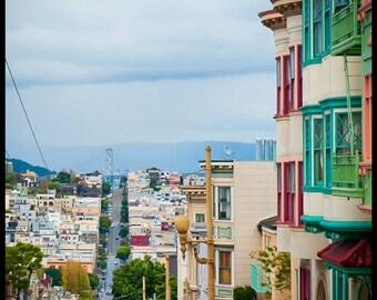 San Francisco Prints - Set of 4 - Fine art travel photography - San Francisco Vignettes - Wall art, Corporate art