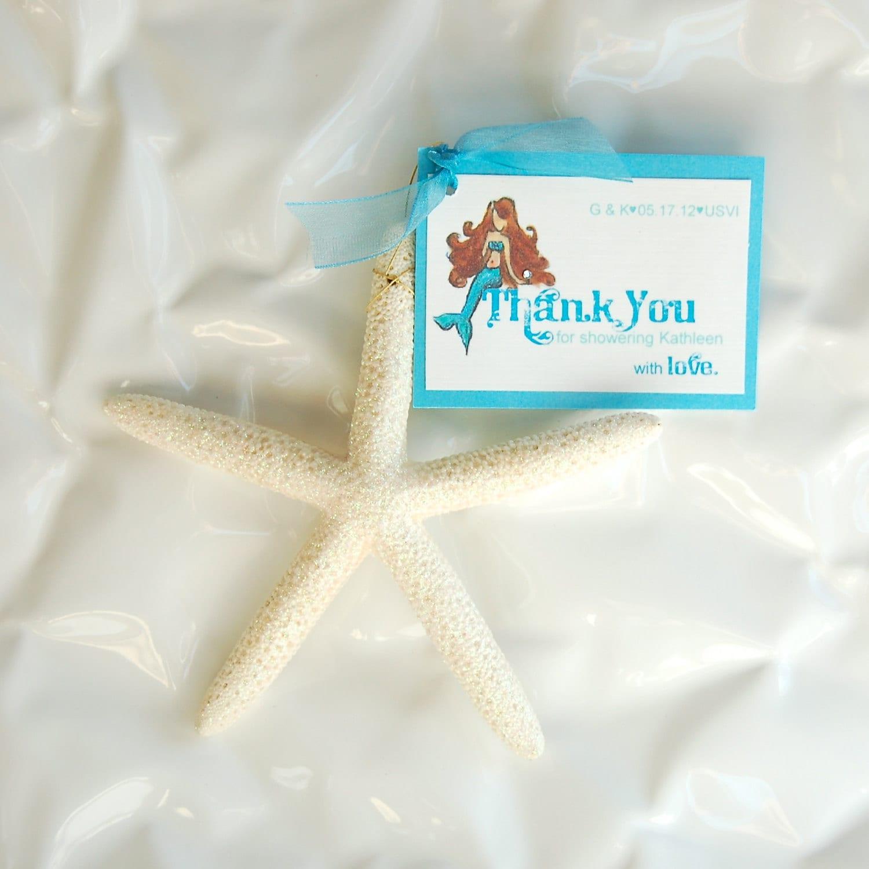 Starfish Wedding Bridal Shower Favors