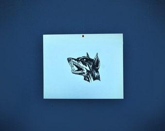 Wild Dog Sign, Beware