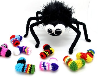 Funny Spider pdf crochet toy pattern - RENEWED