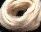 4oz Beige Hemp Fiber Spinning Fiber Weaving Fiber