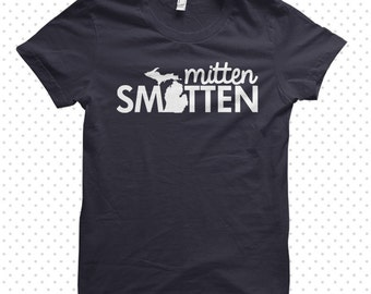 Michigan Smitten:  made-to-order tshirt