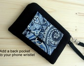 Add a Pocket to your Phone Wristlet