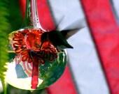 SH1- The Kennedy Style Hummingbird Feeder, The Original One Piece Drip-less Hummingbird Feeder/Silver Hobnail