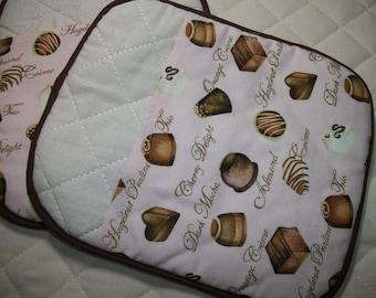Chocolate Box Pot Holders