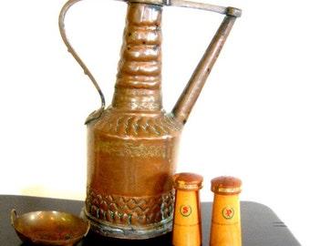 On Sale Vintage Wood Salt Pepper Shakers