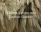Custom Listing for Lindsay Garrett