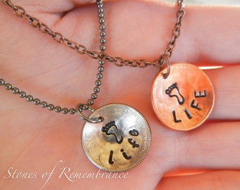 Sanctity of Life Coin Necklace