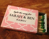 PRINT YOUR OWN Personalized Matchbox Cover (.pdf)