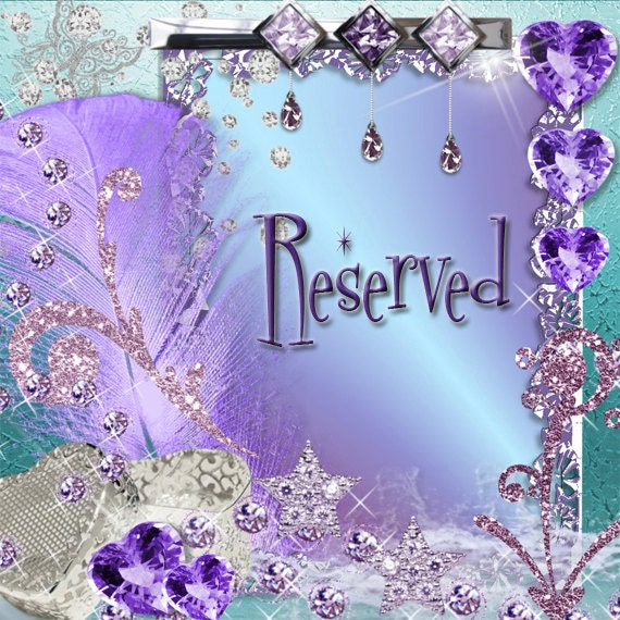 Reserved for Joanna