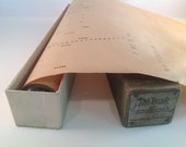 Vintage Unusual Deluxe player piano roll Fox trot  by berlin paper  roll in box