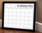 Print Your Own - Family Calendar - Style 1.3