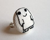 Doctor Who Adipose Ring/Pin/Magnet