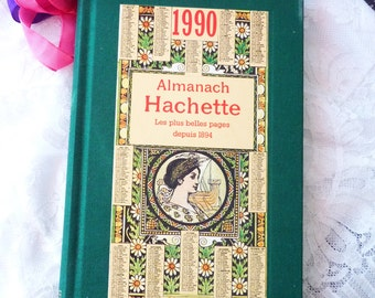 Vintage Almanach Hachette 1990 - Collectible