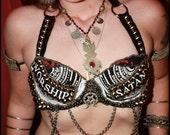 Custom Tribal Fusion Belly Dance Bra