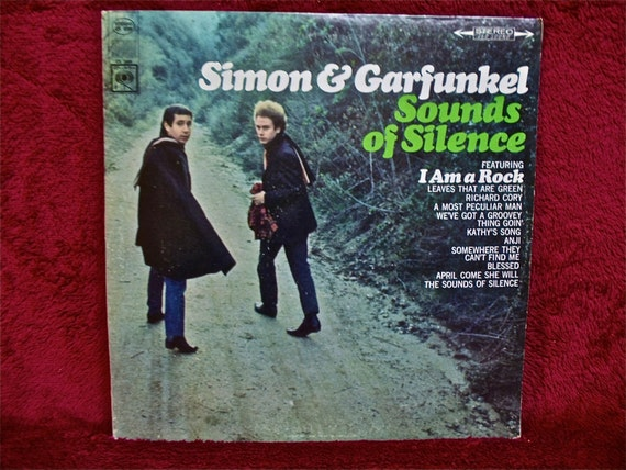 Simon Amp Garfunkel Sounds Of Silence 1965 Vintage Vinyl