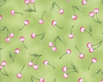 Moda Sakura Park Cherry Cascade - Leaf 32694 15 by Sentimental Studios - cotton