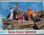 Disney Swiss Family Robinson Lobby Cards Movie Posters set of 3