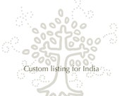 Custom listing for India