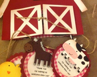 Barn Invitation-BarnYard Invitation-Farm Invitation