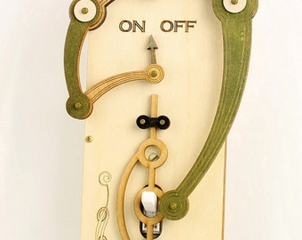 Toggle Light Switch Plate