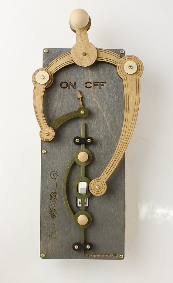 Toggle Light Switch Plate #8001A