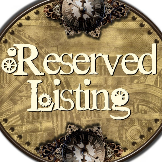 Reserved for M- Victorian Antique Gold Picture Photo Locket - Very Large and Ornate