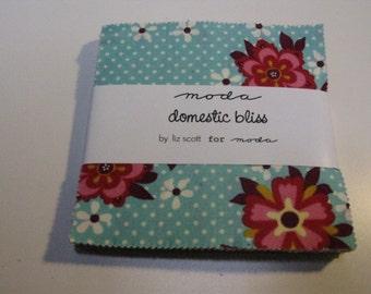 Moda Domestic Bliss Charm Pack by Liz Scott