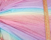 Heathered Cotton Candy Rainbow Gradation.