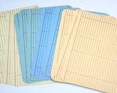12 Vintage Unused Personal Prescription Records - Wells-Yeager-Best Co Lafayette  Indiana