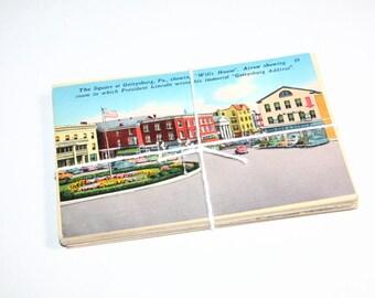 SALE 25 Vintage Used Pennsylvania Postcards