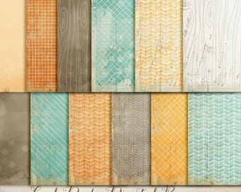 INSTANT DOWNLOAD - Digital Papers - Cool Dude. Perfect for blog background, card making and much more.