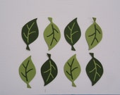 12 Leaf Die Cuts for Cards Scrapbooking and Paper Crafts