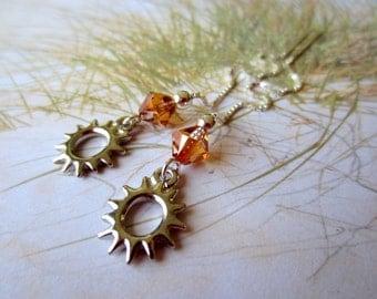 Sunshine-Ear Threads-Silver