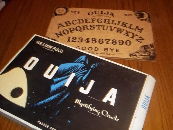 Vintage Ouija Board Box Vintage Ouija Board by Parker