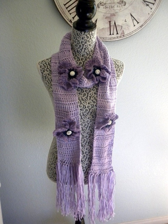 pansy scarf free shipping sale