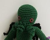 Cthulhu - H. P. Lovecraft Amigurumi Monster